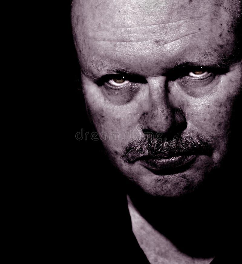 Gli occhi di Kenneth fotografia stock