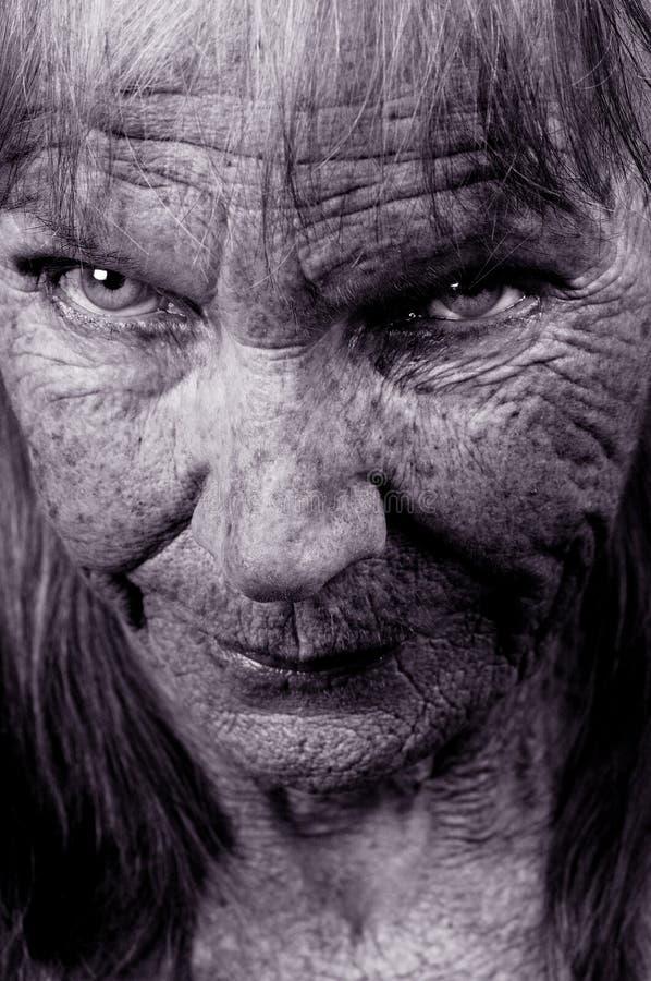 Gli occhi di Olga immagine stock libera da diritti