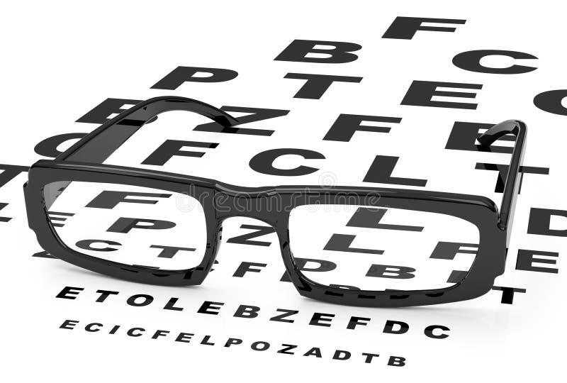 Gli occhiali illustrazione vettoriale