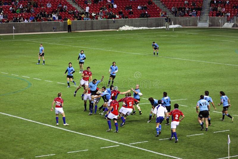 Download Gli S.U.A. Eagles Contro Il Gioco Di Rugby Nazionale Dell'Uruguai Immagine Stock Editoriale - Immagine di funzionare, tazza: 7304229
