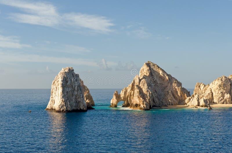 Gli sbarchi si concludono, Cabo San Lucas   immagine stock