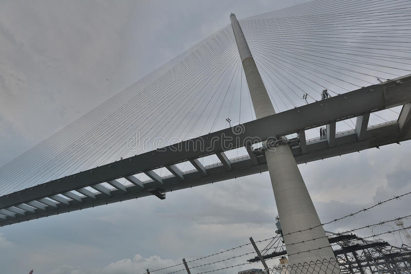 Download Gli Scalpellini Gettano Un Ponte Su E La Strada Principale Di Sha Di Tsing Immagine Stock - Immagine di giunzione, estratto: 55356033