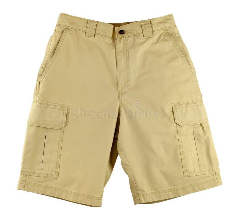Gli shorts degli uomini immagini stock