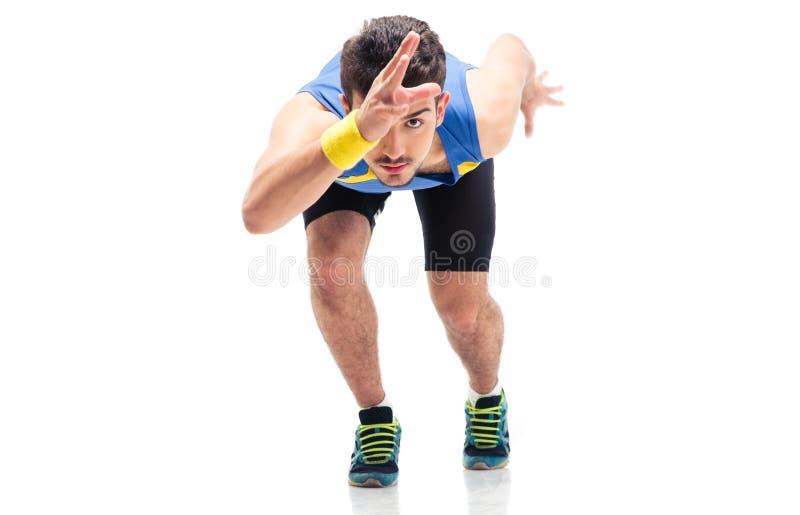 Gli sport equipaggiano prepararsi da funzionare immagini stock libere da diritti