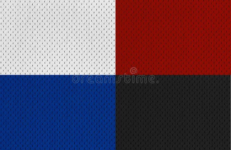 Gli sport variopinti Jersey struttura XXL fotografia stock