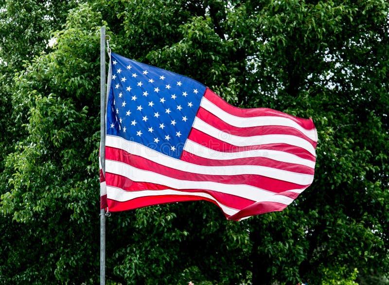 Gli Stati Uniti inbandierano - U.S.A. immagini stock libere da diritti