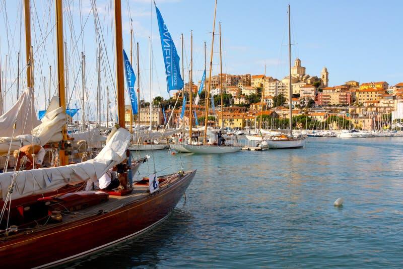 Gli yacht classici di Panerai sfidano 2008 fotografia stock libera da diritti