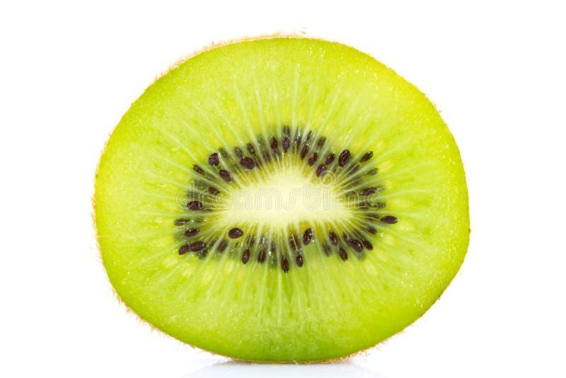 Glid kiwiisolaten på vit royaltyfri foto