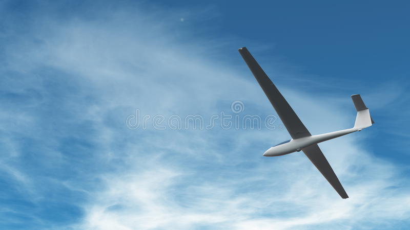 Download Glider stock illustration. Image of weather, clouds, sport - 21458828