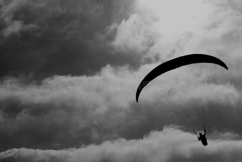 Glider on the sky stock photos