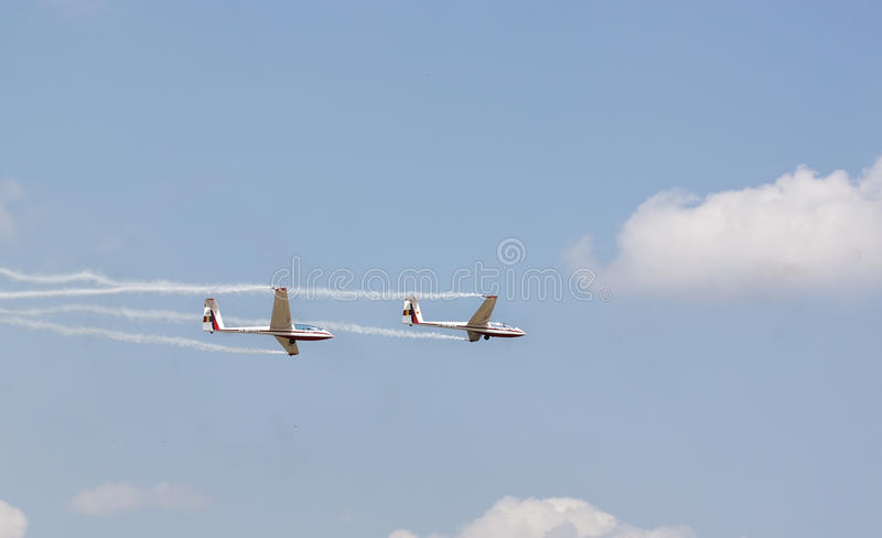 Gliders royalty free stock photography