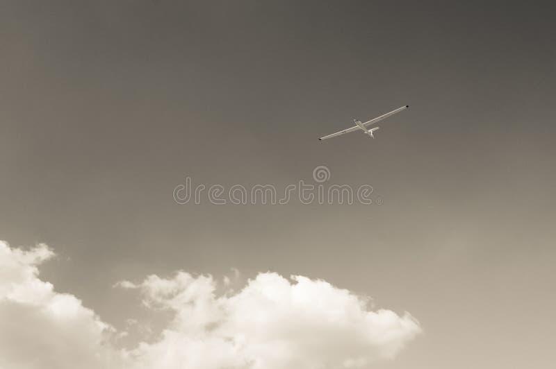 Glidflygplan royaltyfri bild
