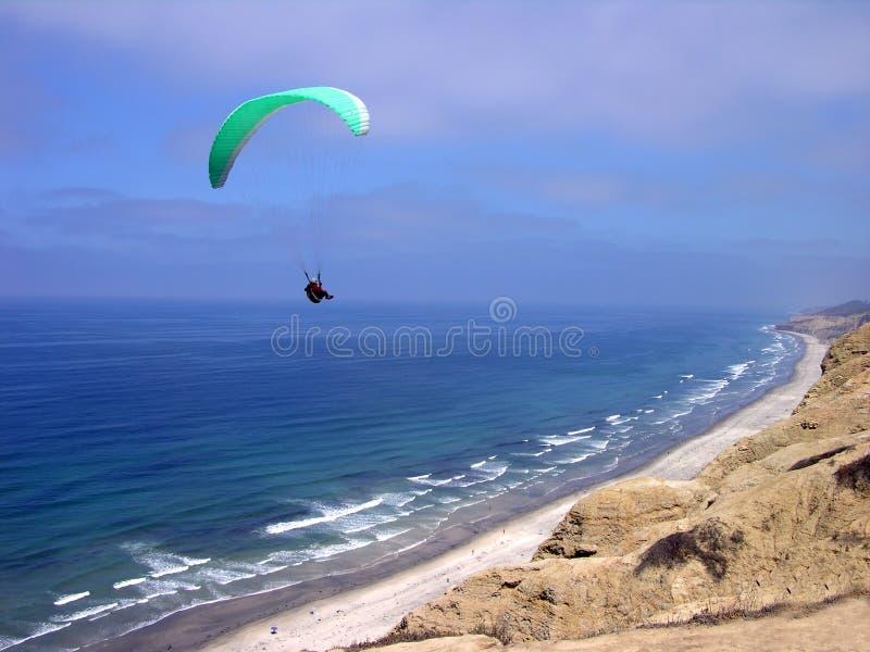 Gliding La Jolla royalty free stock image