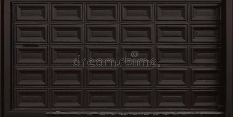 Glidning av garagedörrportar, texturillustration royaltyfri bild