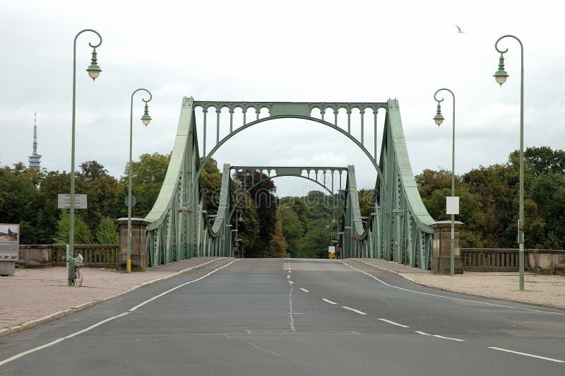 Glienickerbrug in Potsdam royalty-vrije stock foto's