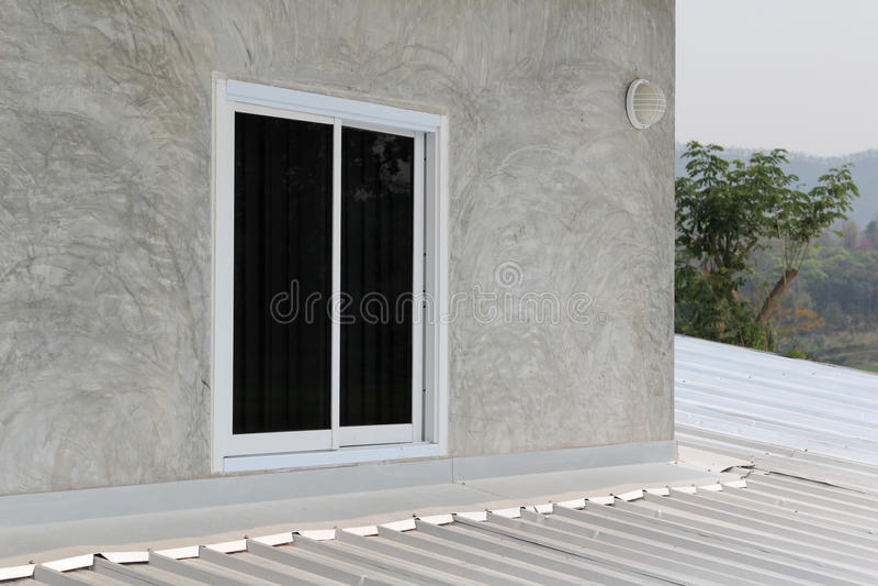 Glijdend venster stock afbeeldingen