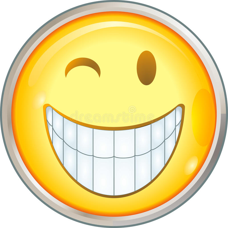 Glimlachen vector illustratie