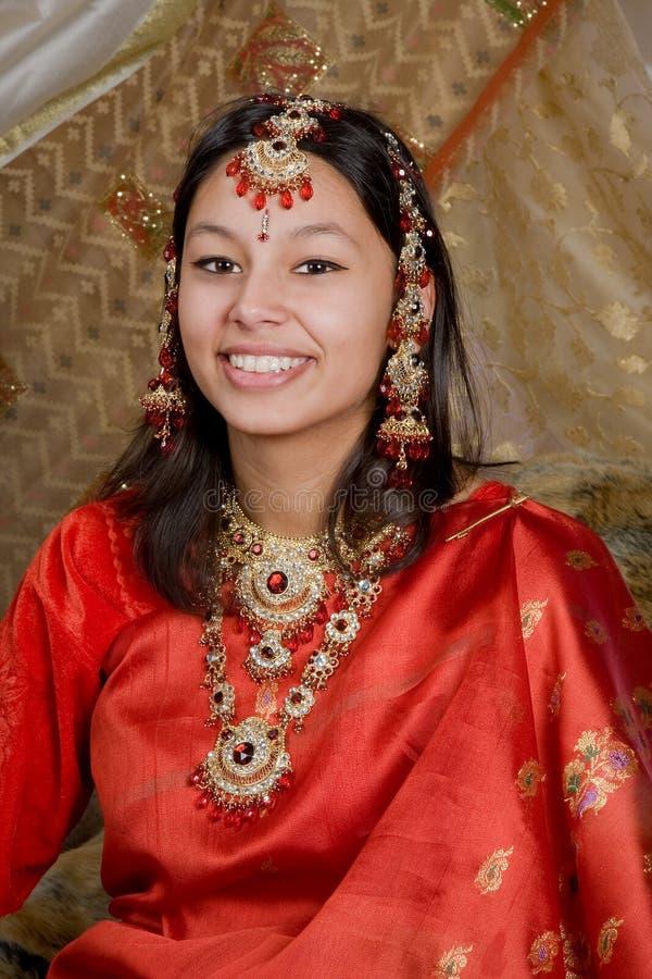 Glimlachend India royalty-vrije stock foto's