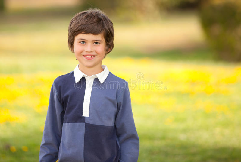 Glimlachend jong geitje royalty-vrije stock foto's
