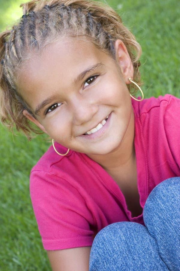 Glimlachend Kind stock foto's