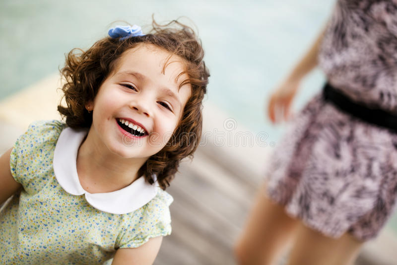 Glimlachend kind royalty-vrije stock fotografie