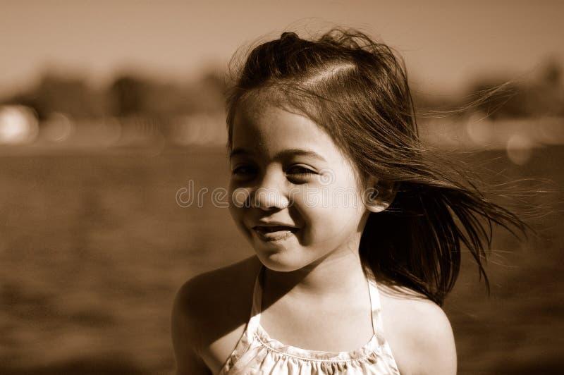 Glimlachend kind stock fotografie