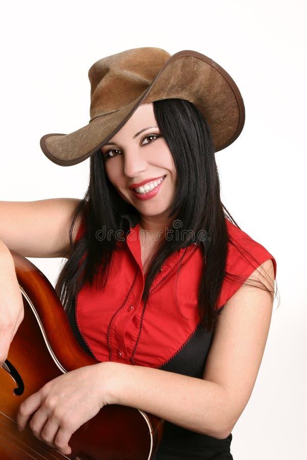 Glimlachend landmeisje stock fotografie