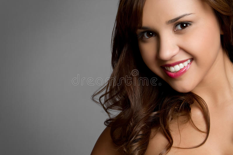 Glimlachend Spaans Meisje royalty-vrije stock fotografie