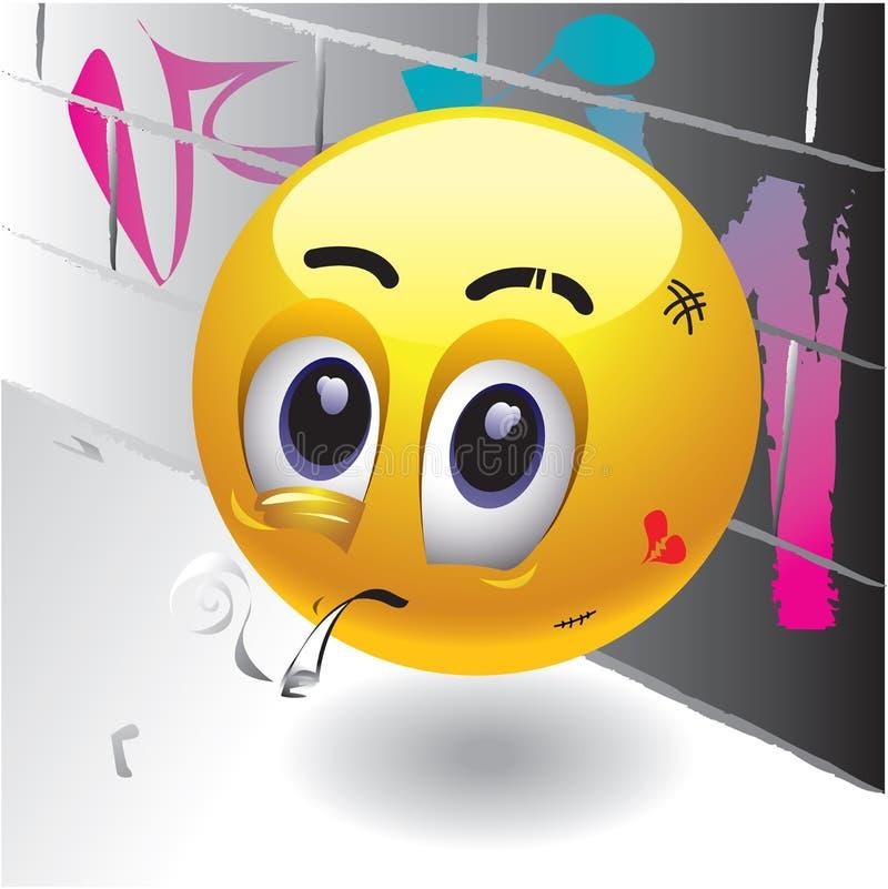 Glimlachende ballen royalty-vrije illustratie