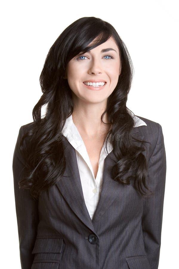 Glimlachende BedrijfsVrouw royalty-vrije stock foto's