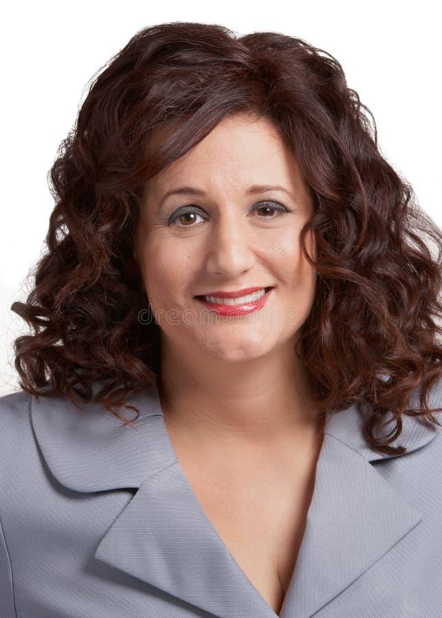 Download Glimlachende bedrijfsvrouw stock foto. Afbeelding bestaande uit partner - 29514670