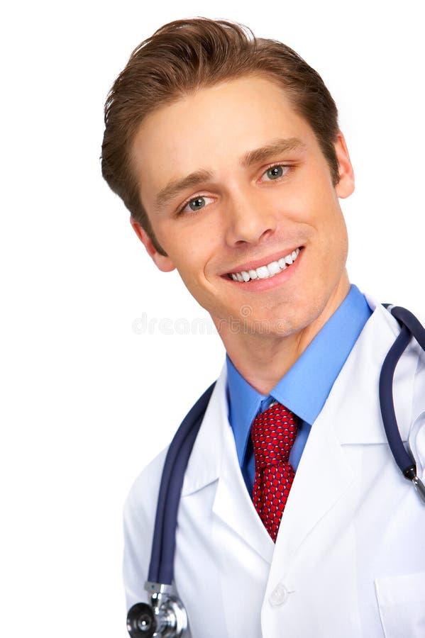Glimlachende medische arts royalty-vrije stock fotografie