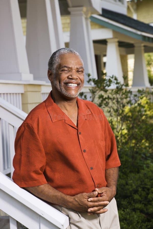Glimlachende mens. royalty-vrije stock fotografie