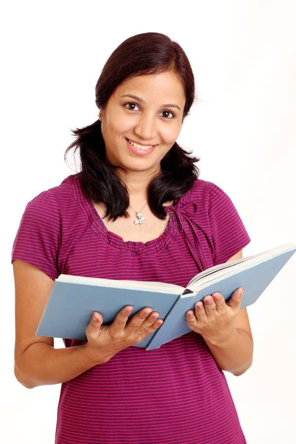 Glimlachende student stock afbeelding