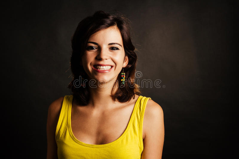 Download Glimlachende Vrouw stock foto. Afbeelding bestaande uit kaukasisch - 54079706