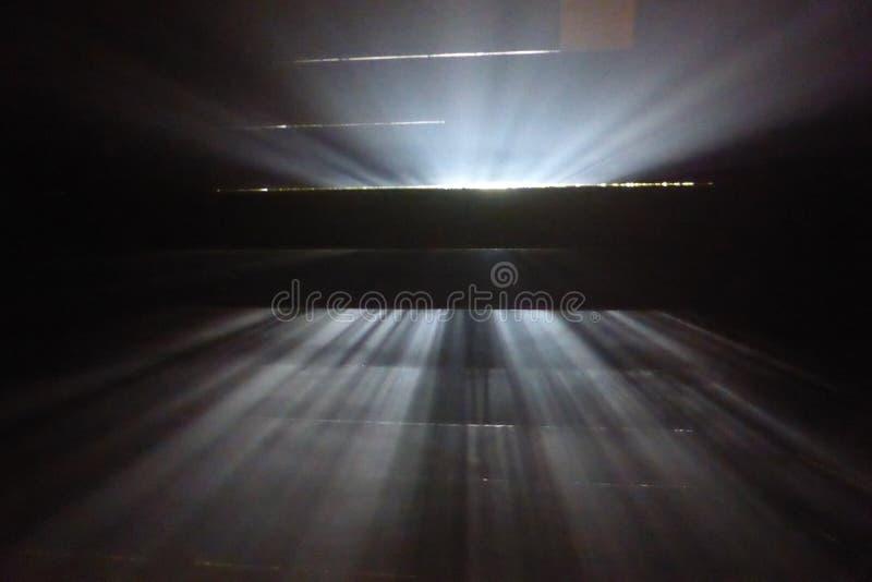 Glimmer van licht royalty-vrije stock afbeeldingen