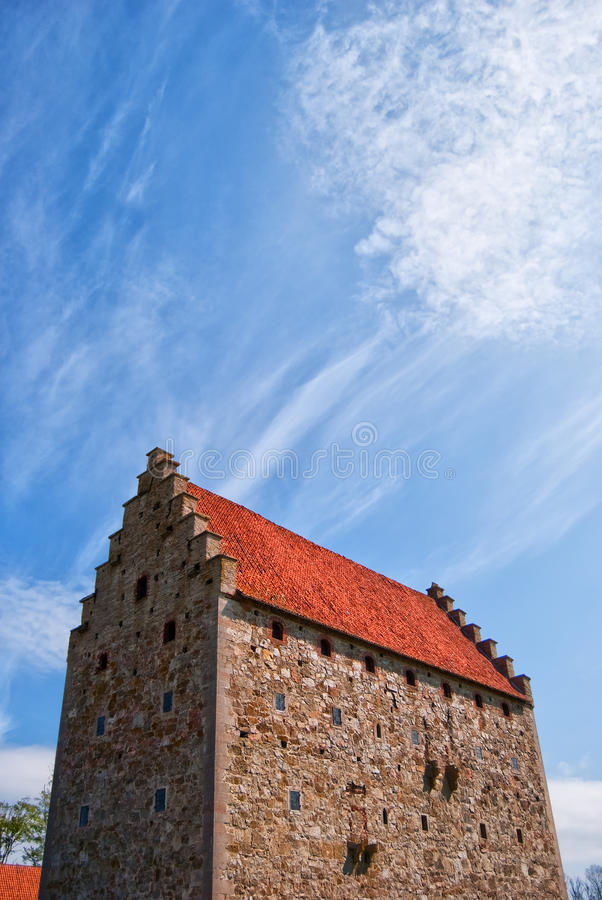 Glimmingehus castle 02 stock photos