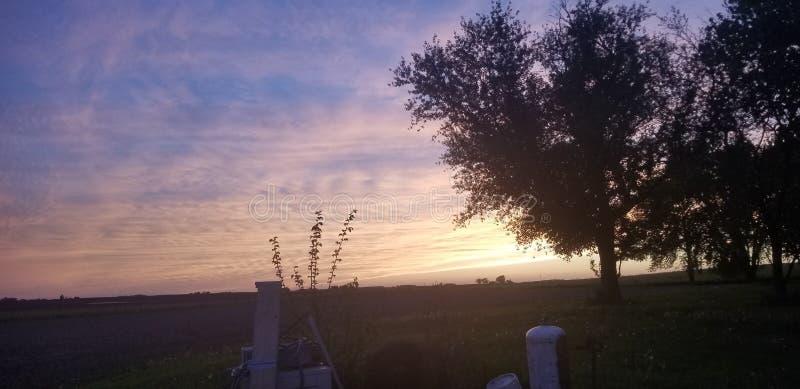 A Glimpse of Hope. Sunsey, sunset, sky royalty free stock image