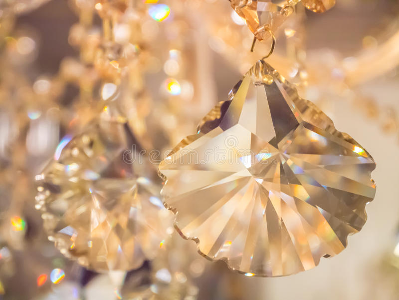 Glimt glimt, kristallkrona arkivfoton