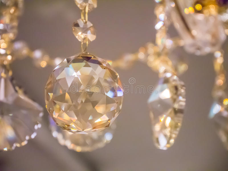 Glimt glimt, kristallkrona royaltyfri foto