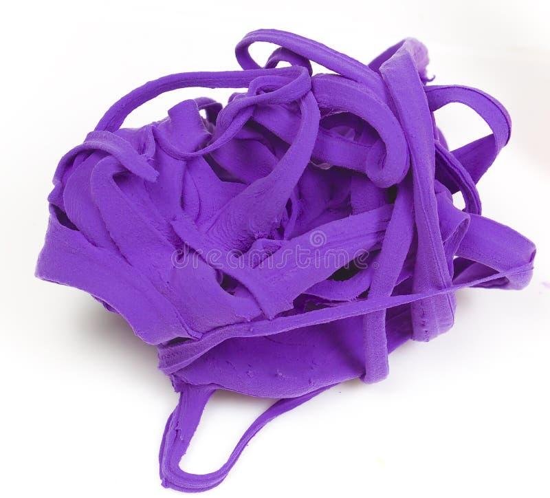 gliniane purpury zdjęcie royalty free