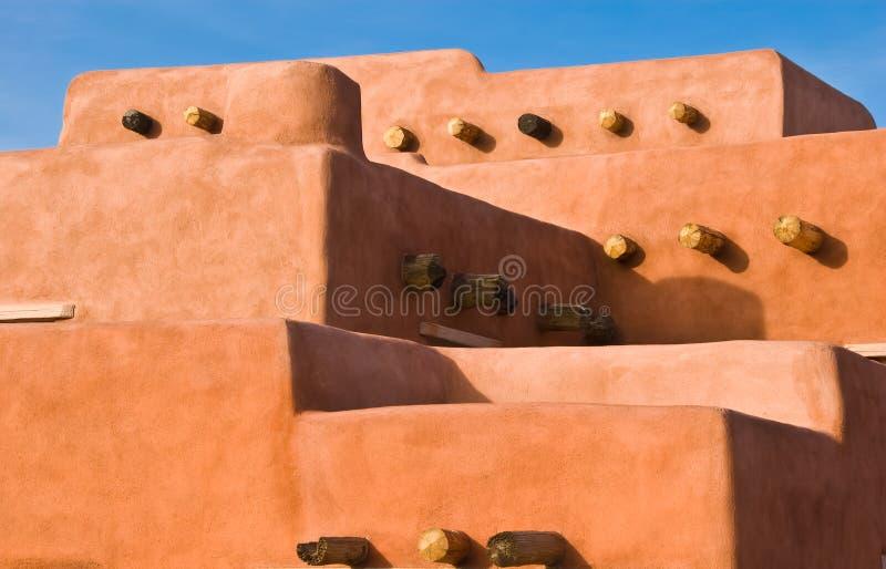 gliny namułowej architektury południowy zachód zdjęcia stock