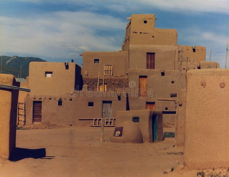 gliny namułowej pueblo fotografia stock
