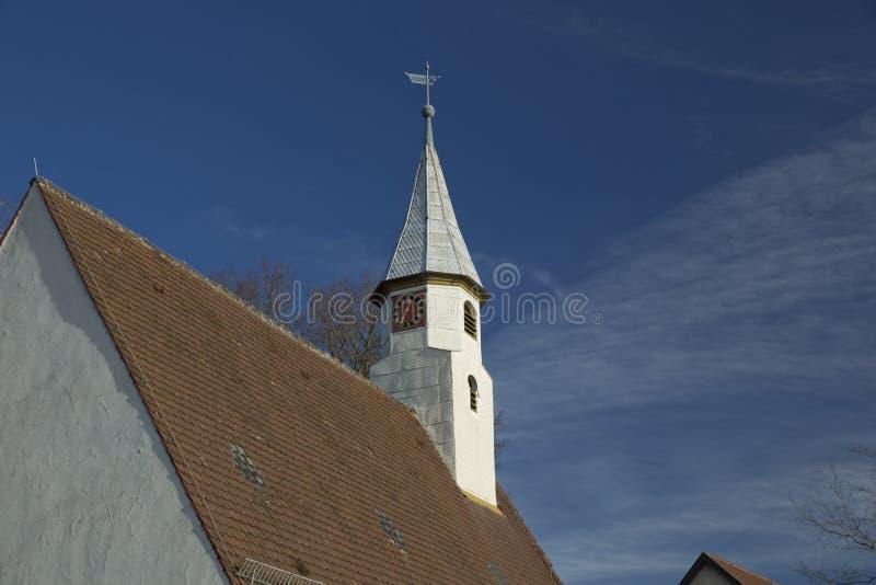 ?glise de Krummwalden, Krummwalden, Baden Wurttenberg, Allemagne - 1er janvier 2014 photographie stock
