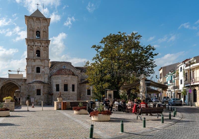 ?glise de Lazarous de saint ? la ville Chypre de Larnaca photos libres de droits