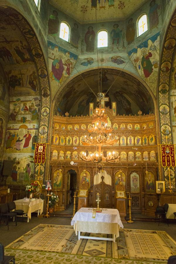 ?glise de Nicolae de saint de Toplita images stock