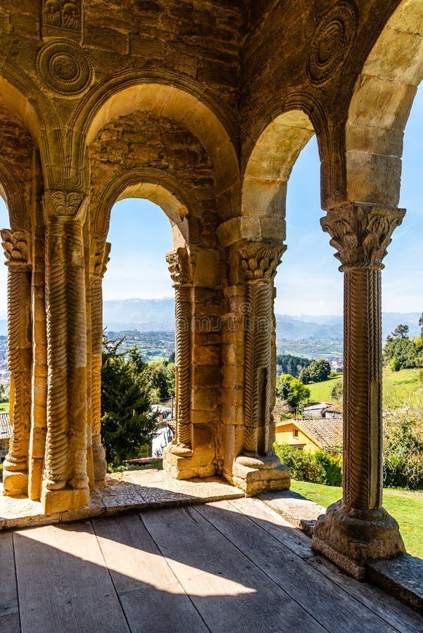 ?glise de Santa Maria del Naranco ? Oviedo image libre de droits