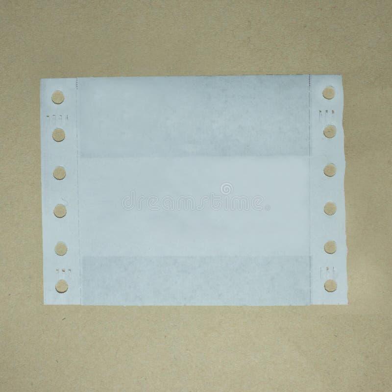 Glissade de papier images libres de droits