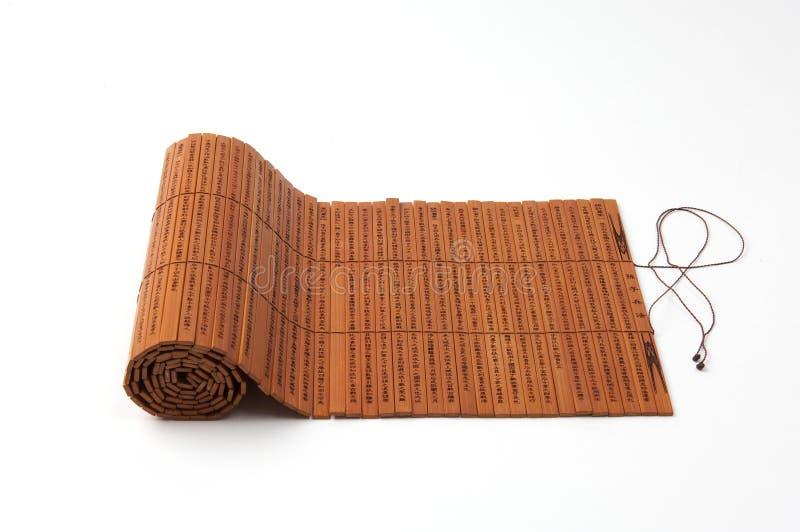 glissades de bambou photo libre de droits
