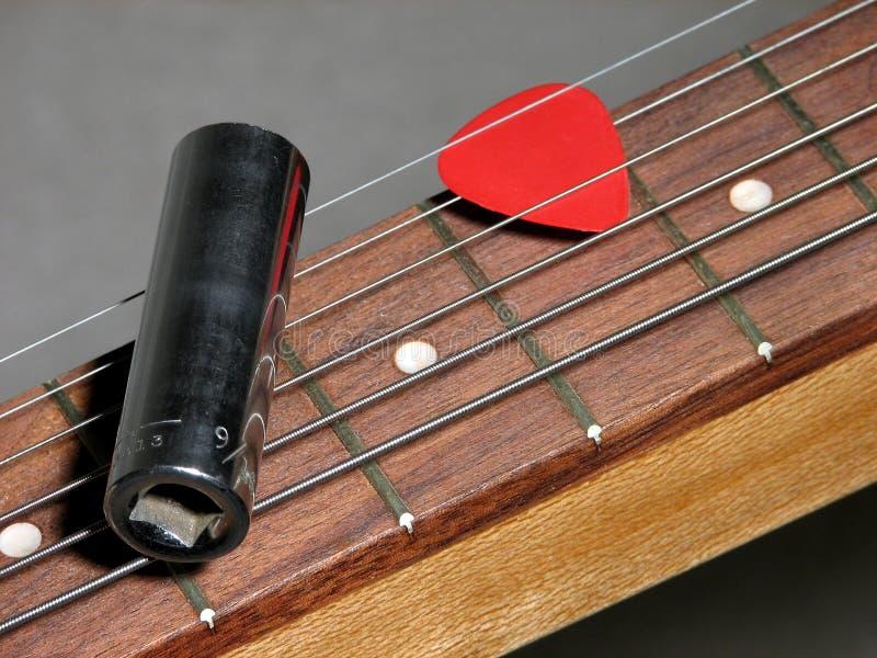 Glissez la guitare photos stock